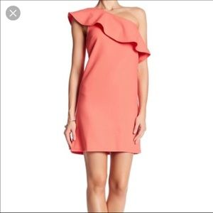 Cupcake and Cashmere coral dress